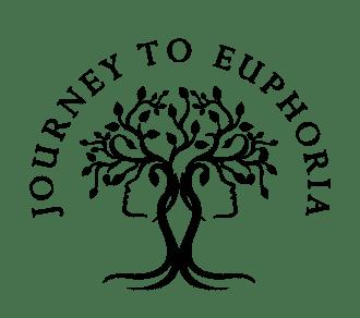 Journey To Euphoria's Logo In Black