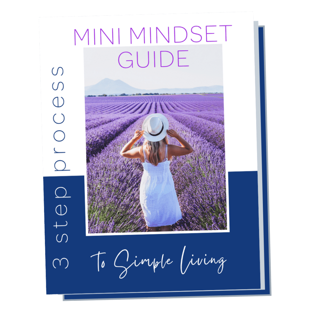 Mini Mindset Guide To Simple Living Cover