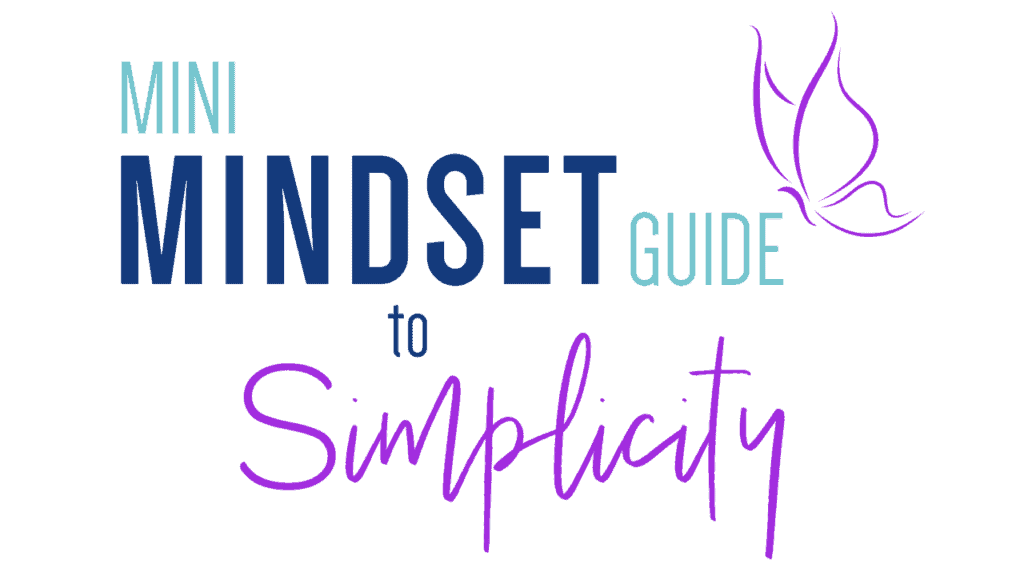 Mini Mindset Guide to Simplicity ws